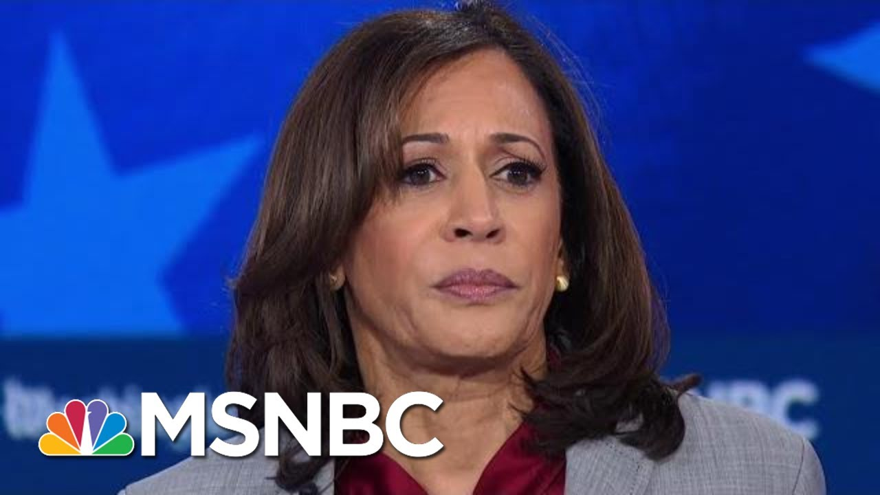 Sen. Kamala Harris: We Have A Criminal Living In The White House | MSNBC 4
