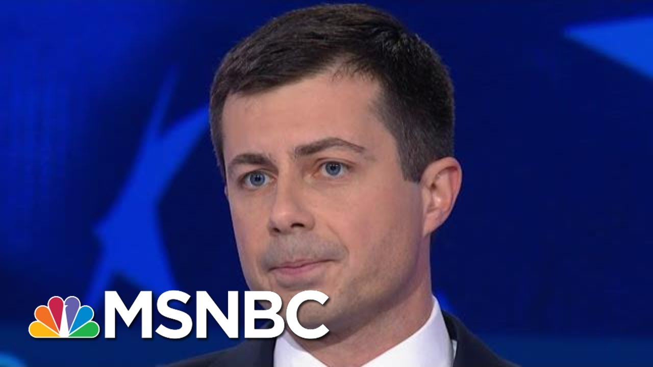 Pete Buttigieg: We Need Someone From 'Kinds Of Communities' That Support Trump   MSNBC 3