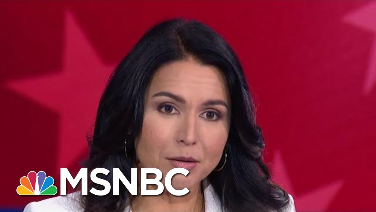 Tulsi Gabbard: 'Hyper-Partisanship' Has Blocked Progress On Climate Change | MSNBC 4