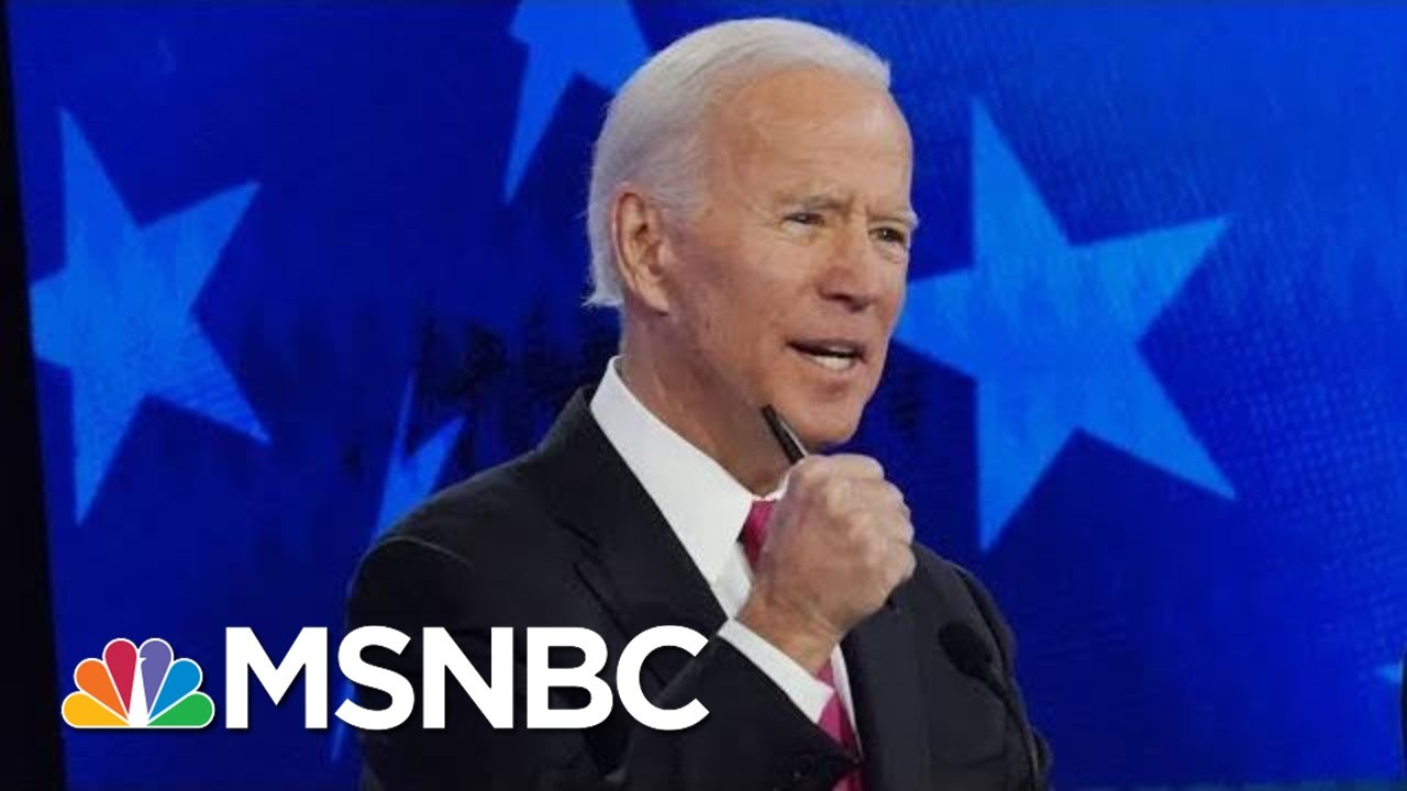 Joe Biden Gaffe On Stopping Violence Against Women: We Need To Keep 'Punching At It' | MSNBC 5