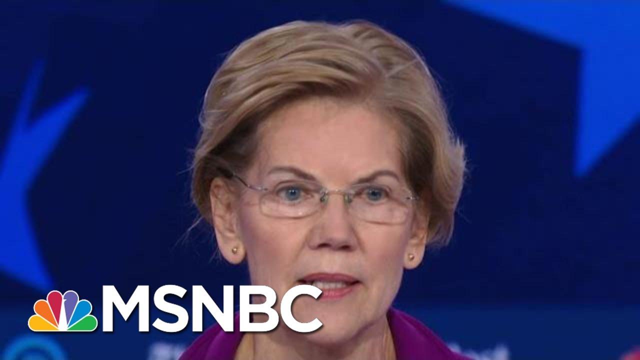 Senator Elizabeth Warren: 'Abortion Rights Are Human Rights' And 'Economic Rights' | MSNBC 3
