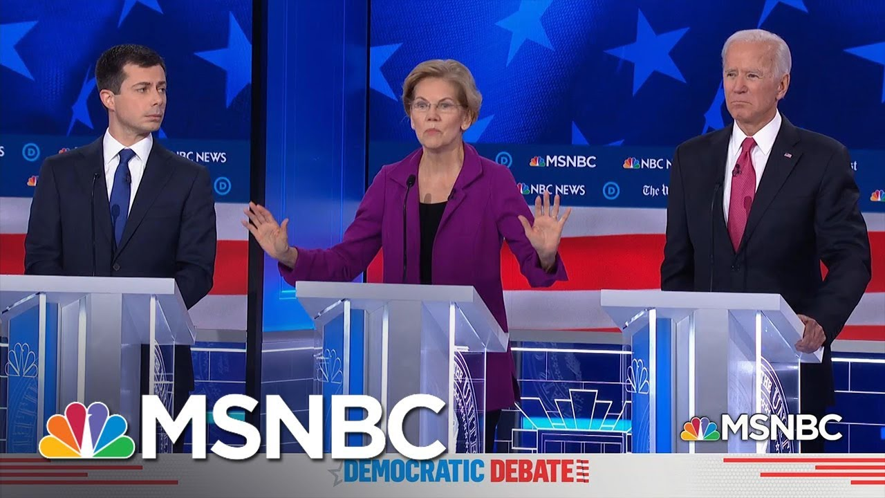Women's Issues Take Center Stage At Democratic Debate | MSNBC 3