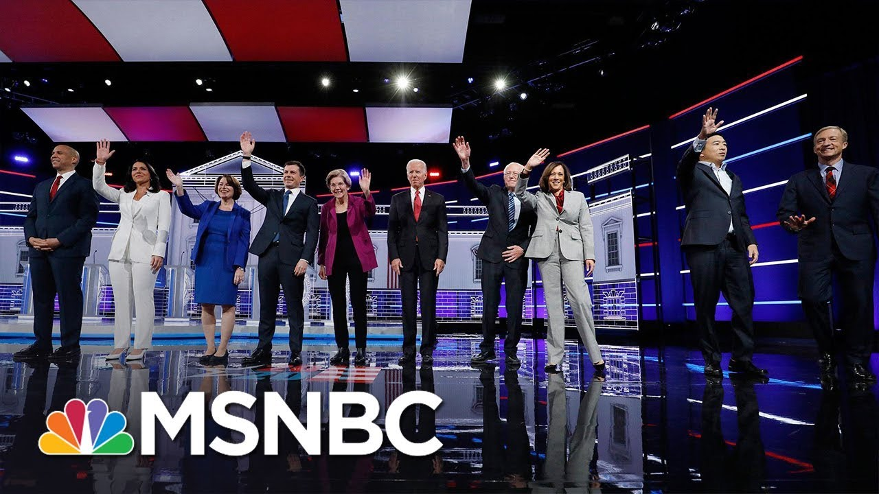 Watch The Democratic Debate In Less Than 4 Minutes | MSNBC 4