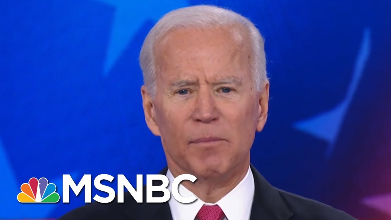 Booker To Biden On Not Legalizing Marijuana: 'I Thought You Might Have Been High' | MSNBC 13