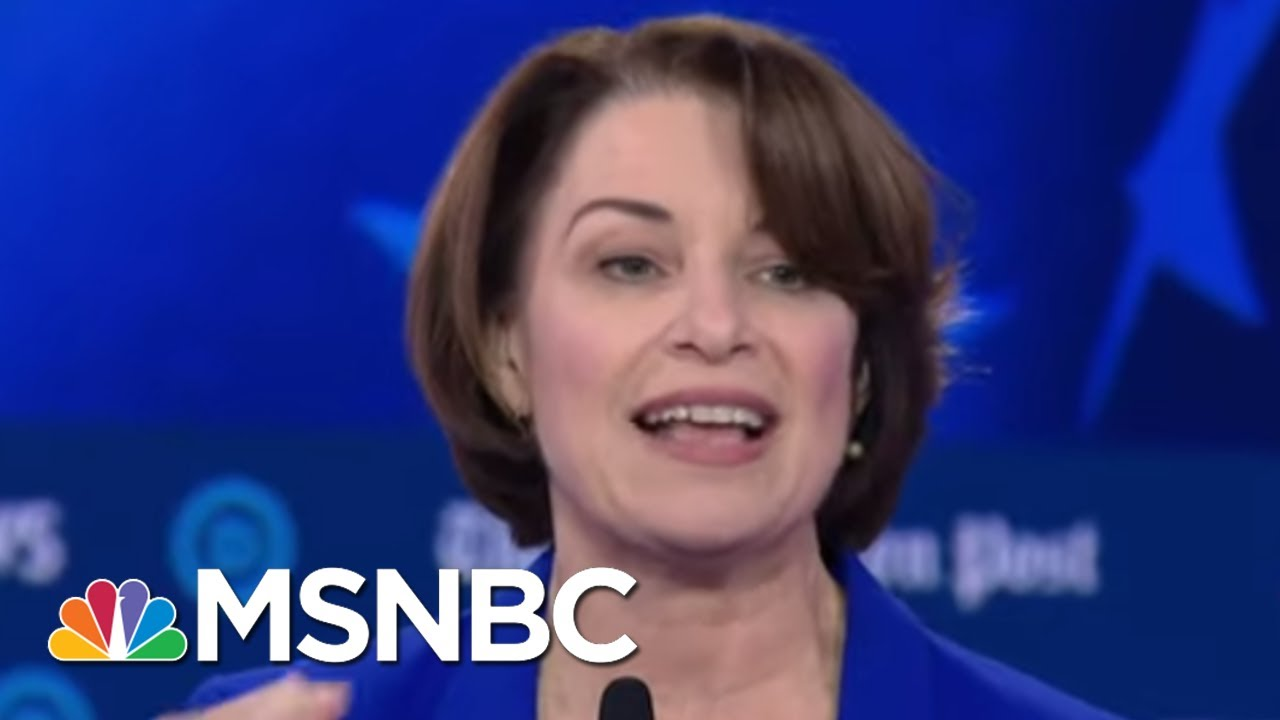 Klobuchar: Women Are Held To A Higher Standard | MSNBC 4