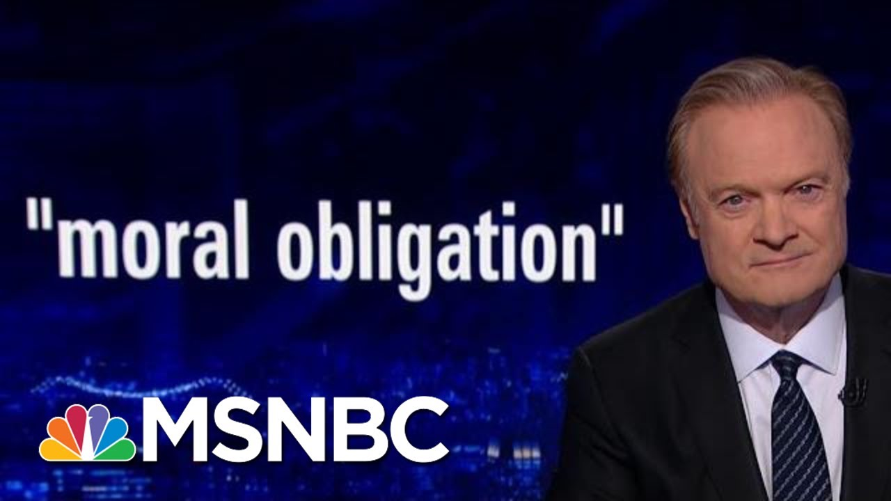 Impeachment Witnesses Felt 'Moral Obligation' To Testify In Investigation | The Last Word | MSNBC 7