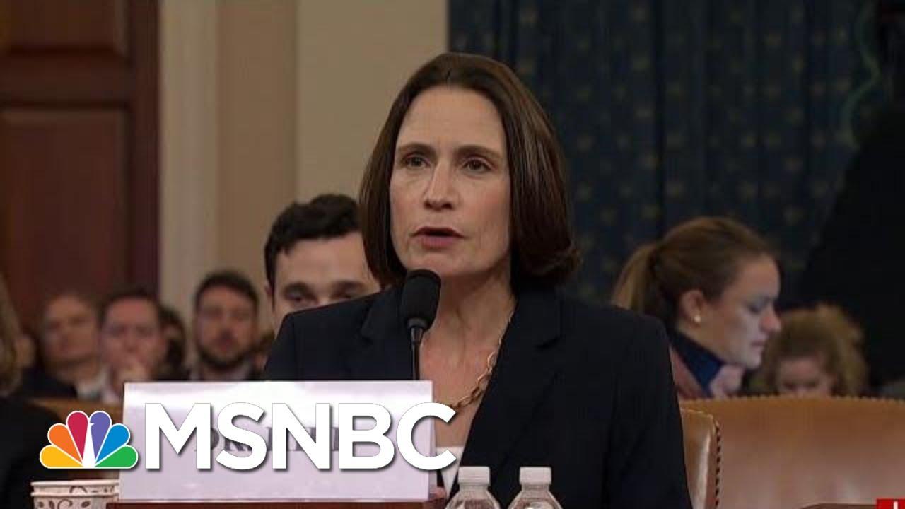 'Fiona Hill Is President Donald Trump's Worst Nightmare' | Morning Joe | MSNBC 5