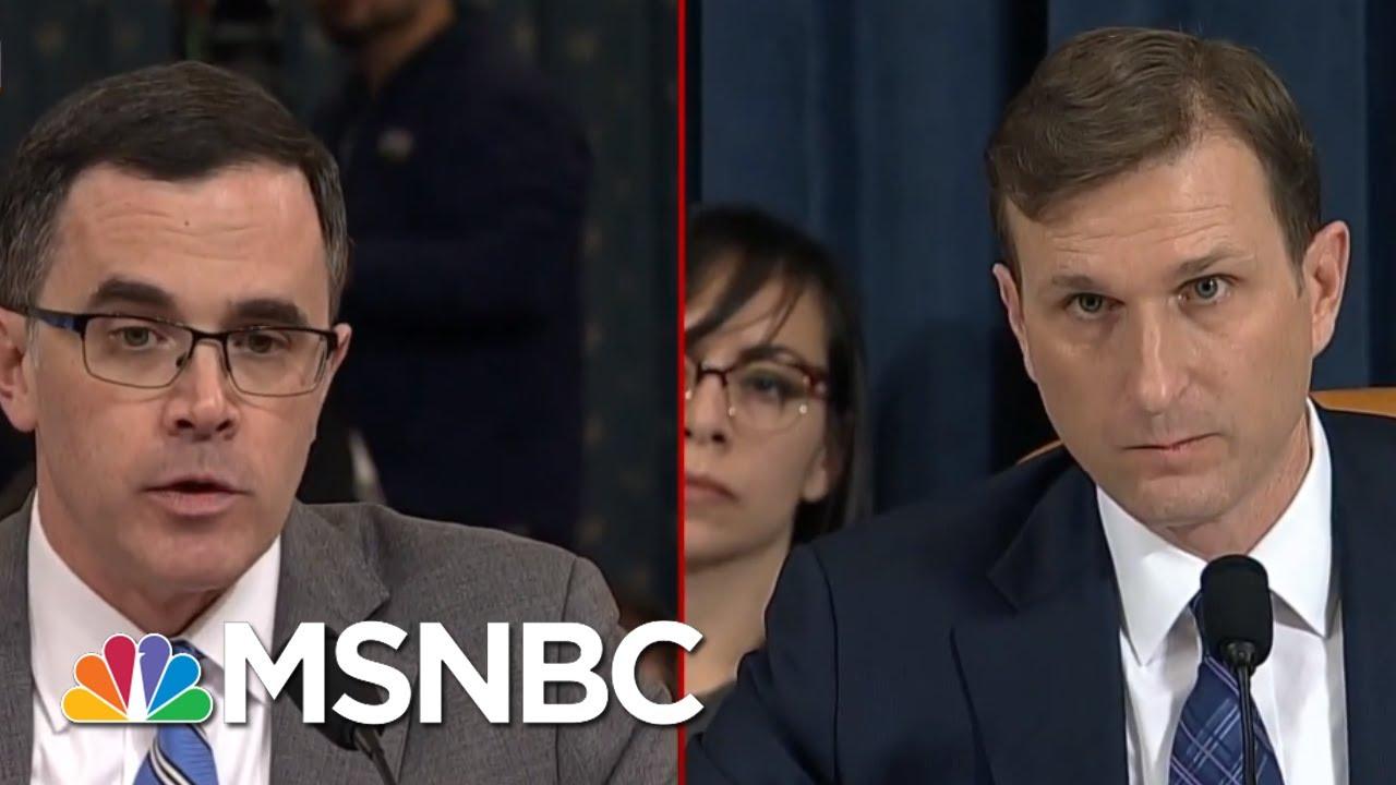 What's Next In The Impeachment Proceedings | Deadline | MSNBC 7