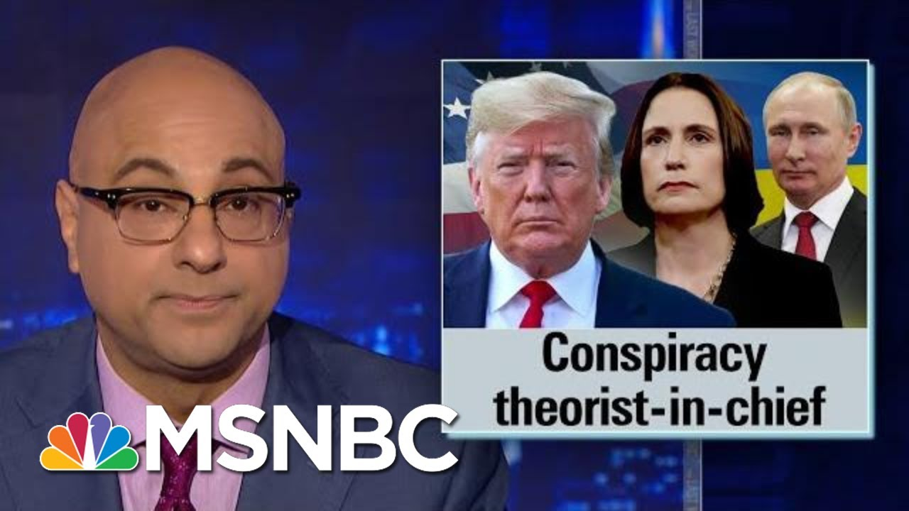 Trump Continues Pushing Debunked Ukraine Conspiracy Theories | The Last Word | MSNBC 7
