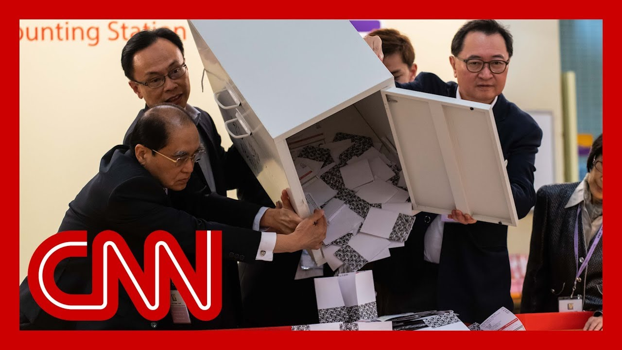 Early Hong Kong election results show pro-government lawmakers losing seats 5