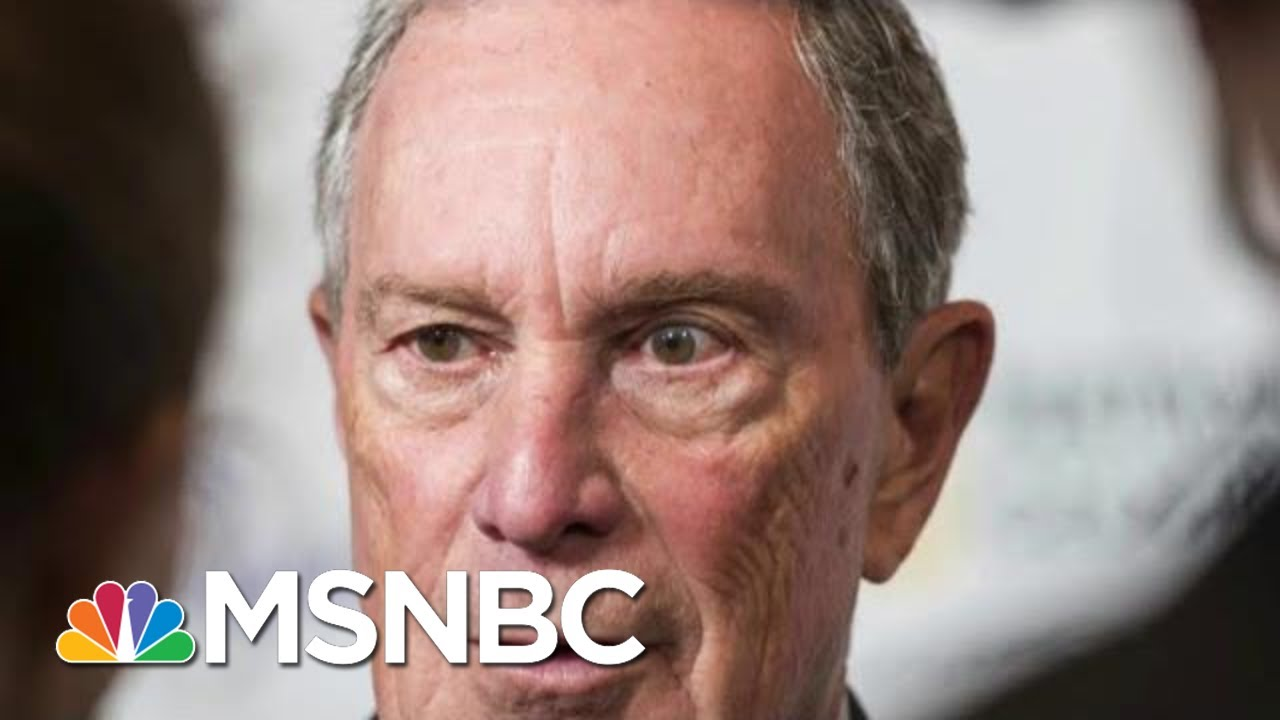 What Case Will Michael Bloomberg Make To Voters? | Morning Joe | MSNBC 7