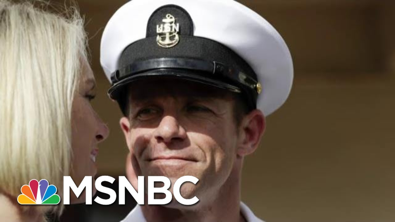 Navy Chief Fired After Opposing President Donald Trump On Navy SEAL | Velshi & Ruhle | MSNBC 4