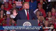 After impeachment vote, a defiant Trump - Day That Was | MSNBC 5