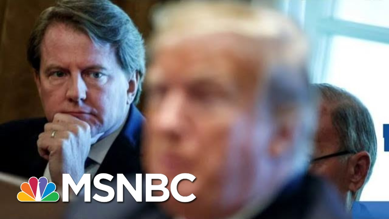 'Devastating Loss': Judge Orders WH Counsel To Testify Before Congress Amid Ukraine Scandal | MSNBC 9