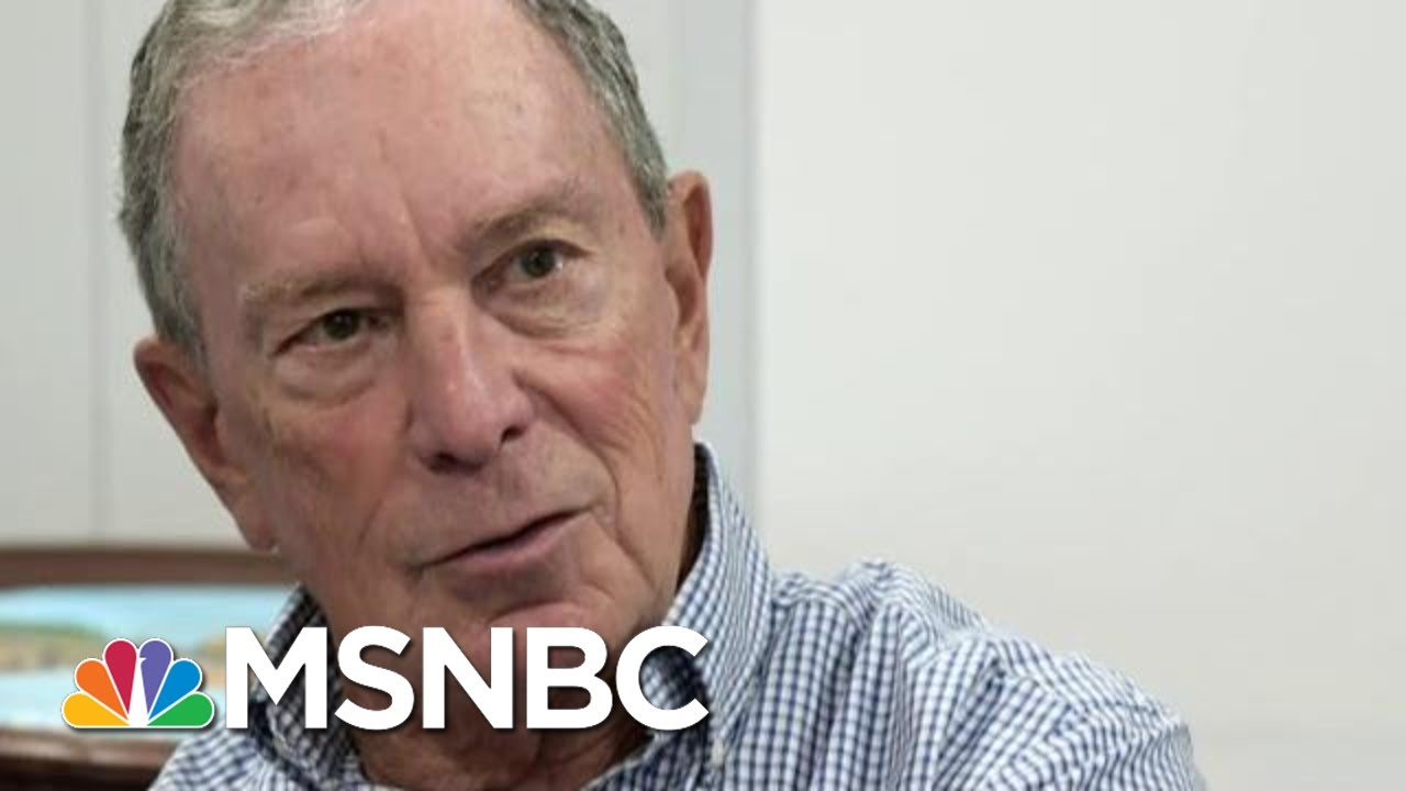What Does Mike Bloomberg Need To Do To Win Over Voters? | MTP Daily | MSNBC 10