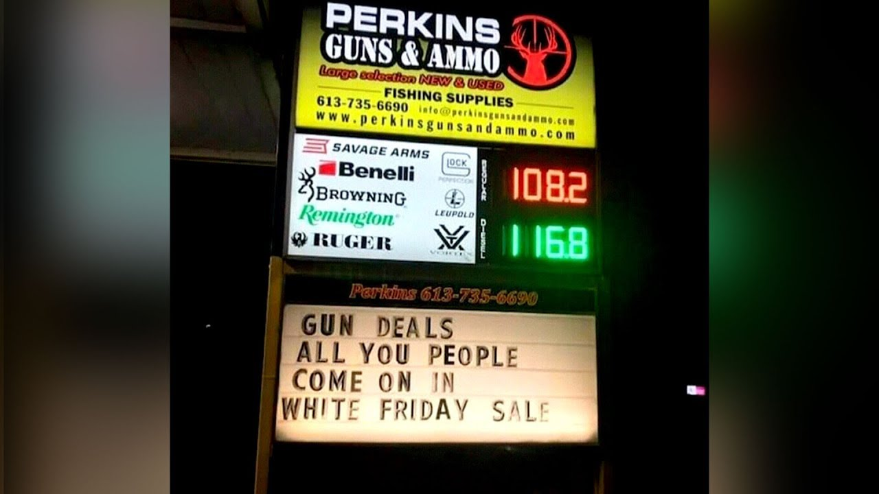 Gun store advertises 'White Friday' sale, owner insists he's not racist 7