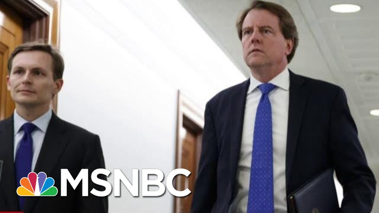 Judge Orders Don McGahn To Testify To Congress | The Last Word | MSNBC 1