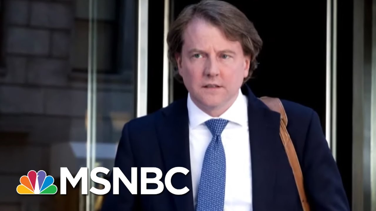 Judge Rules Don McGahn Must Testify Before The House Judiciary Committee | MTP Daily | MSNBC 13