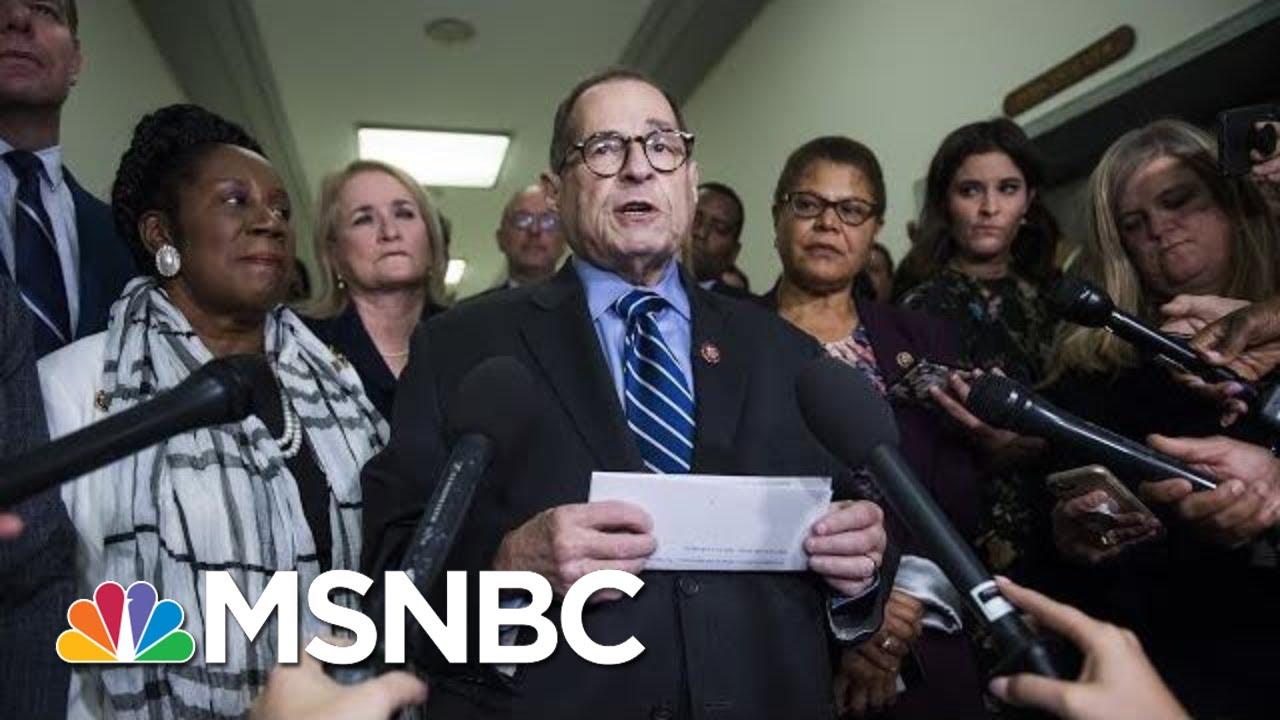 House Judiciary Committee Announces Next Impeachment Hearing | Velshi & Ruhle | MSNBC 10