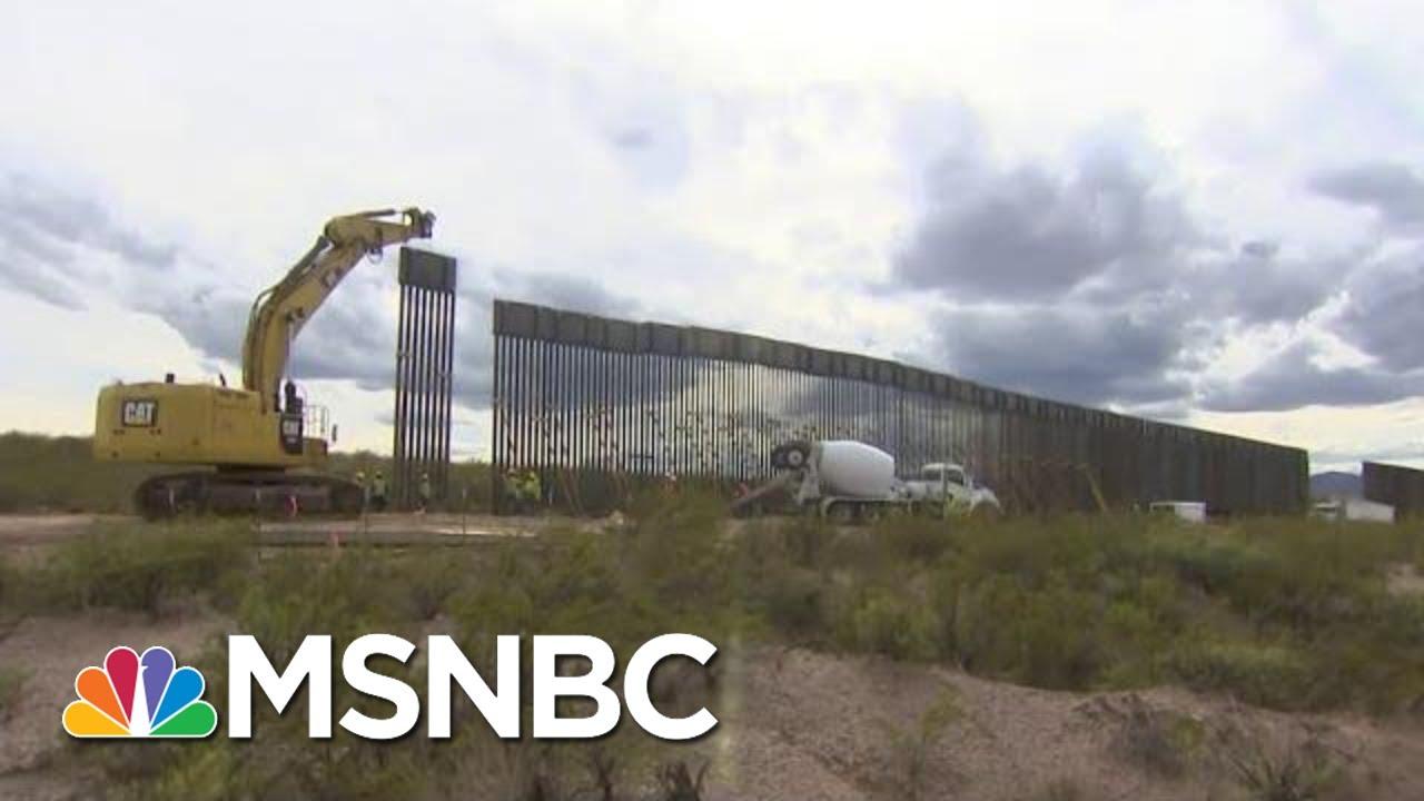 Arizona Ranchers Discuss The Impact Of Trump's Border Wall   Craig Melvin   MSNBC 9