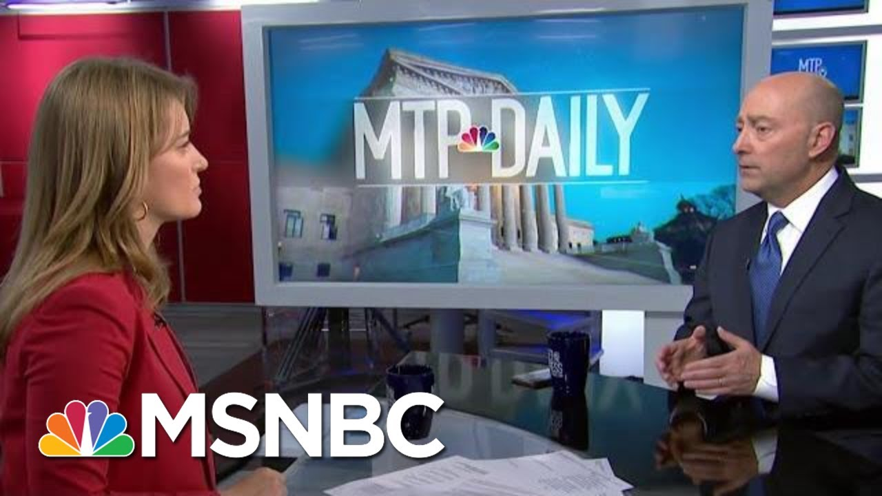 Fired Navy Chief Rebukes President Trump, Defends Handling Of Navy SEAL Case | MTP Daily | MSNBC 2
