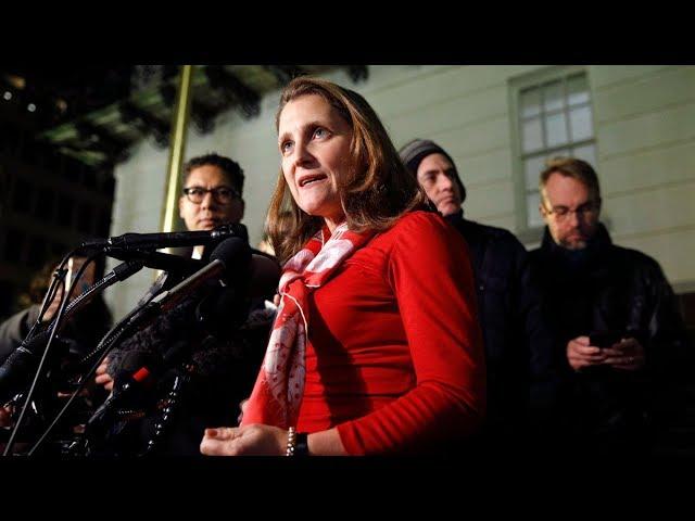Deputy PM Freeland talks trade and USMCA deal in Washington 6