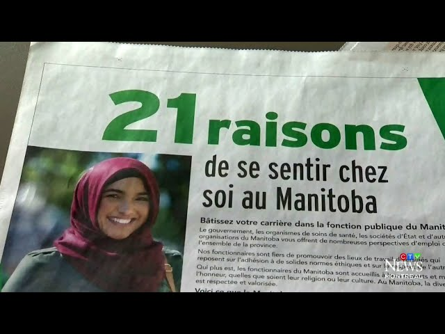 """Mind your own business"": Quebec gov't unhappy over ad citing Bill 21 to woo workers to Manitoba 6"