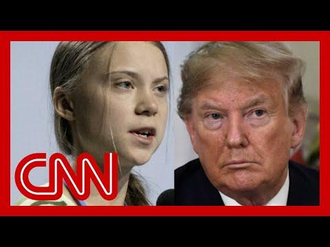 Trump mocks Greta Thunberg on Twitter 7