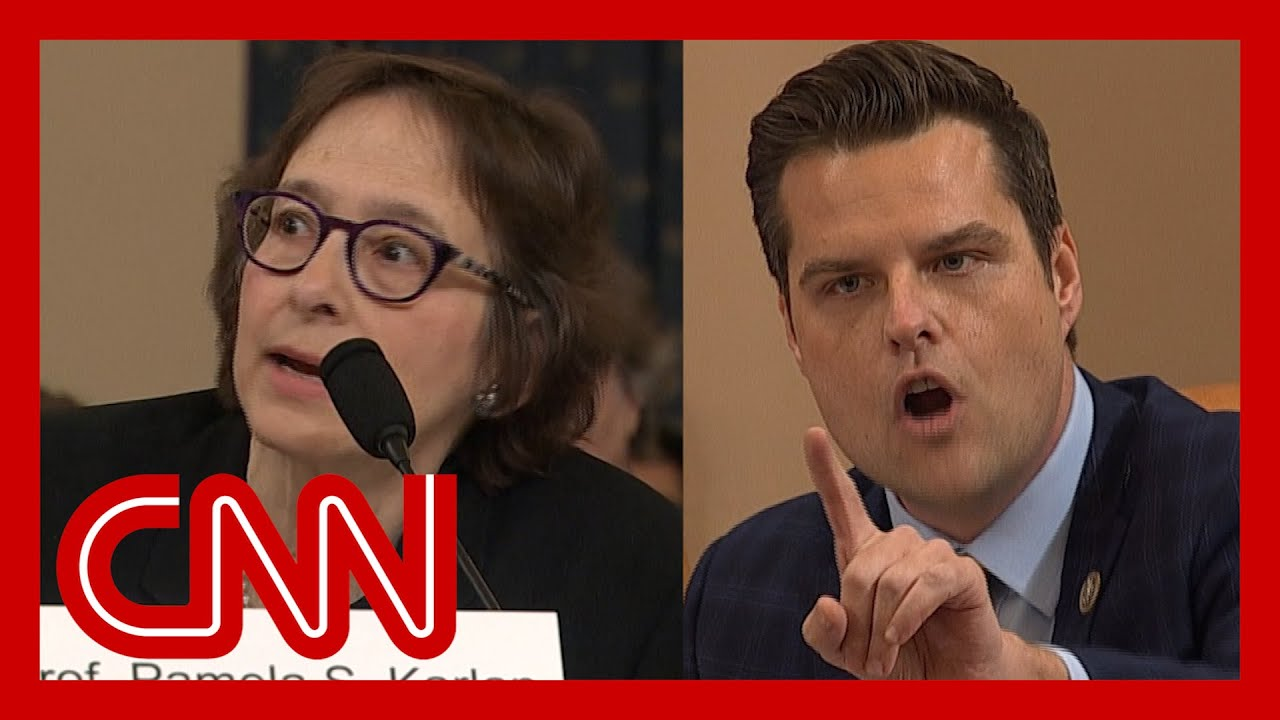 Impeachment hearing gets heated: You don't get to interrupt me! 3