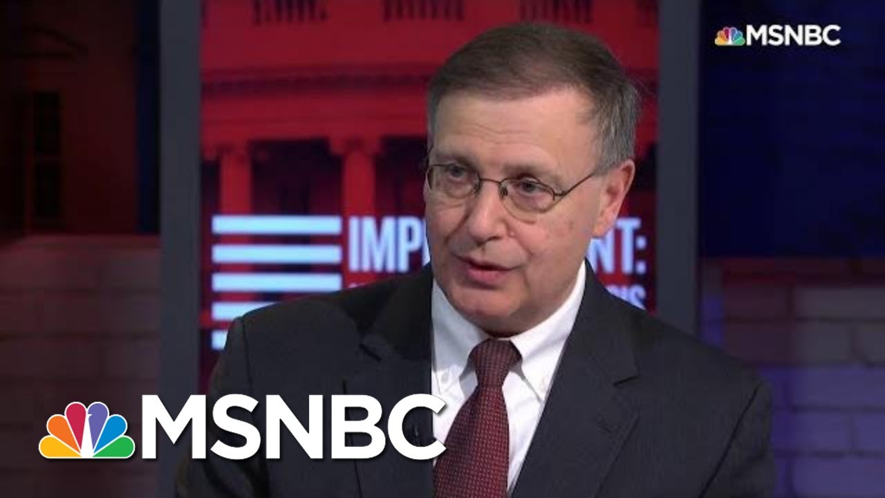 Rosenberg: Prof. Turley's Arguments Are 'Extraordinarily Convenient' And 'Weak' | MSNBC 1
