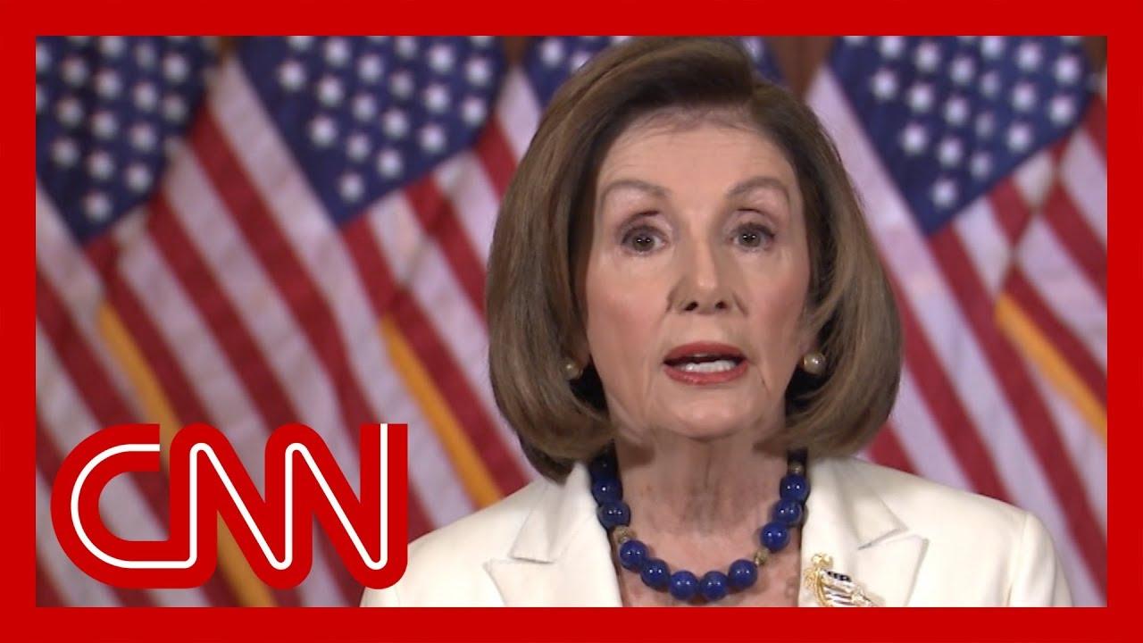Watch full video of Nancy Pelosi's impeachment statement 12