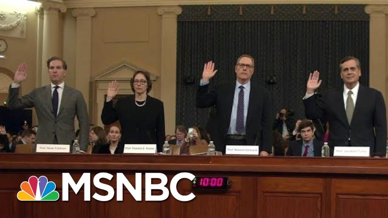 Giuliani Visits Ukraine As House Holds Impeachment Hearings On Ukraine Plot | MSNBC 6