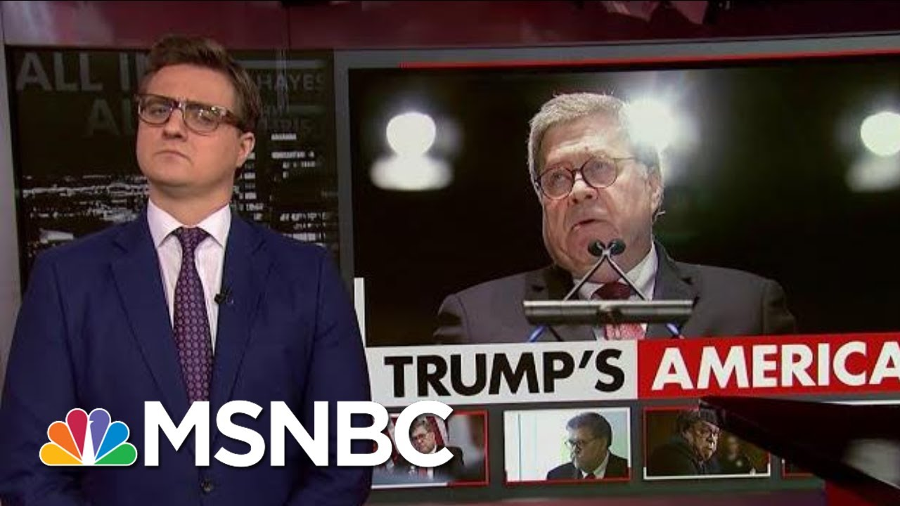 Chris Hayes On William Barr's 'Disgusting, Despicable View' | All In | MSNBC 2