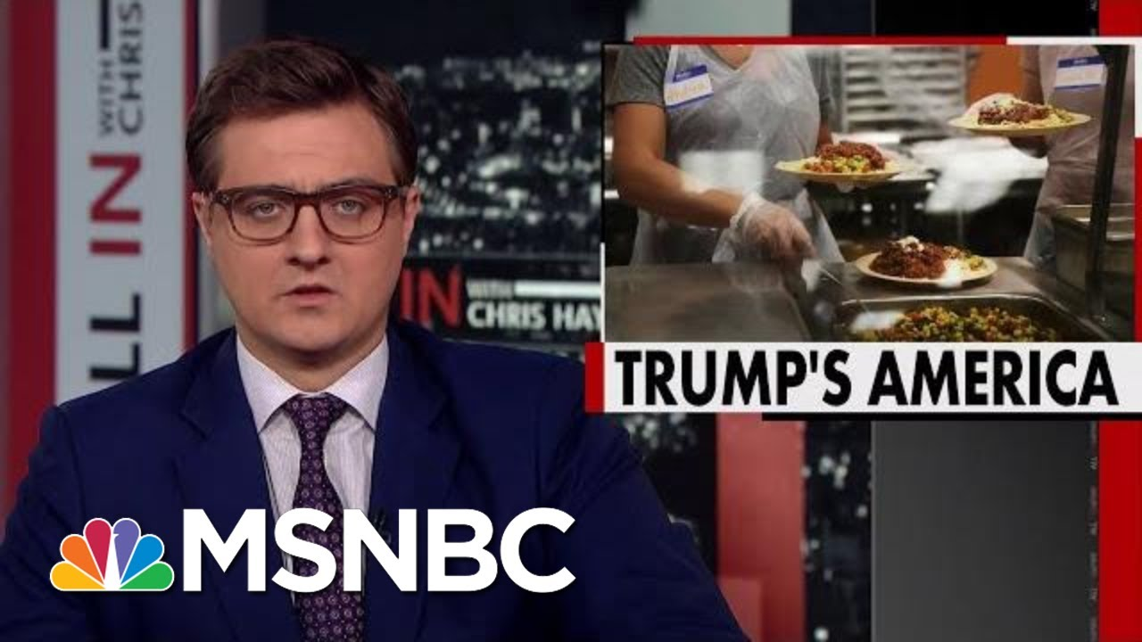 Trump Administration To Kick Nearly 700,000 Off Food Stamps | All In | MSNBC 8