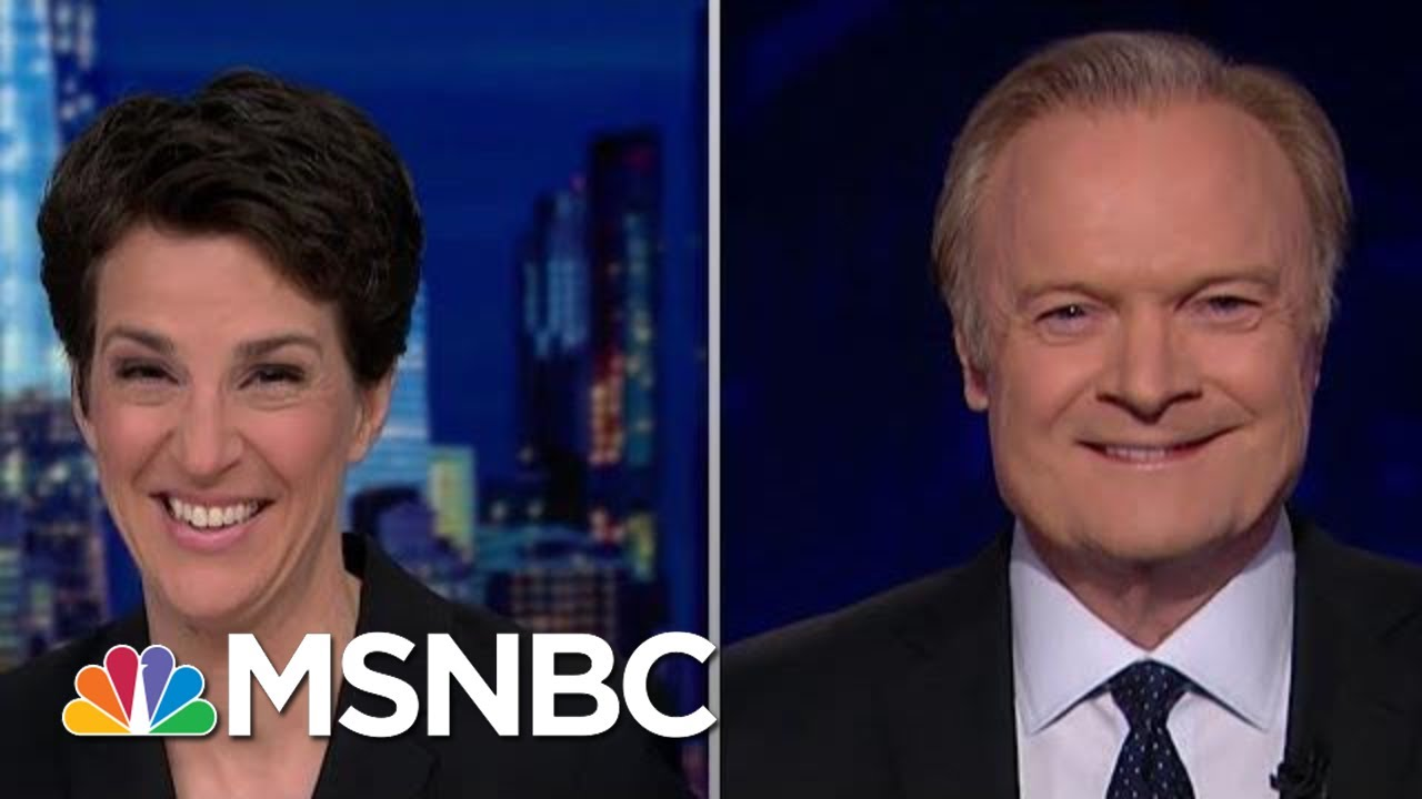 Lawrence And Rachel On Democrats' Secret Weapon In Impeachment Hearing | The Last Word | MSNBC 7