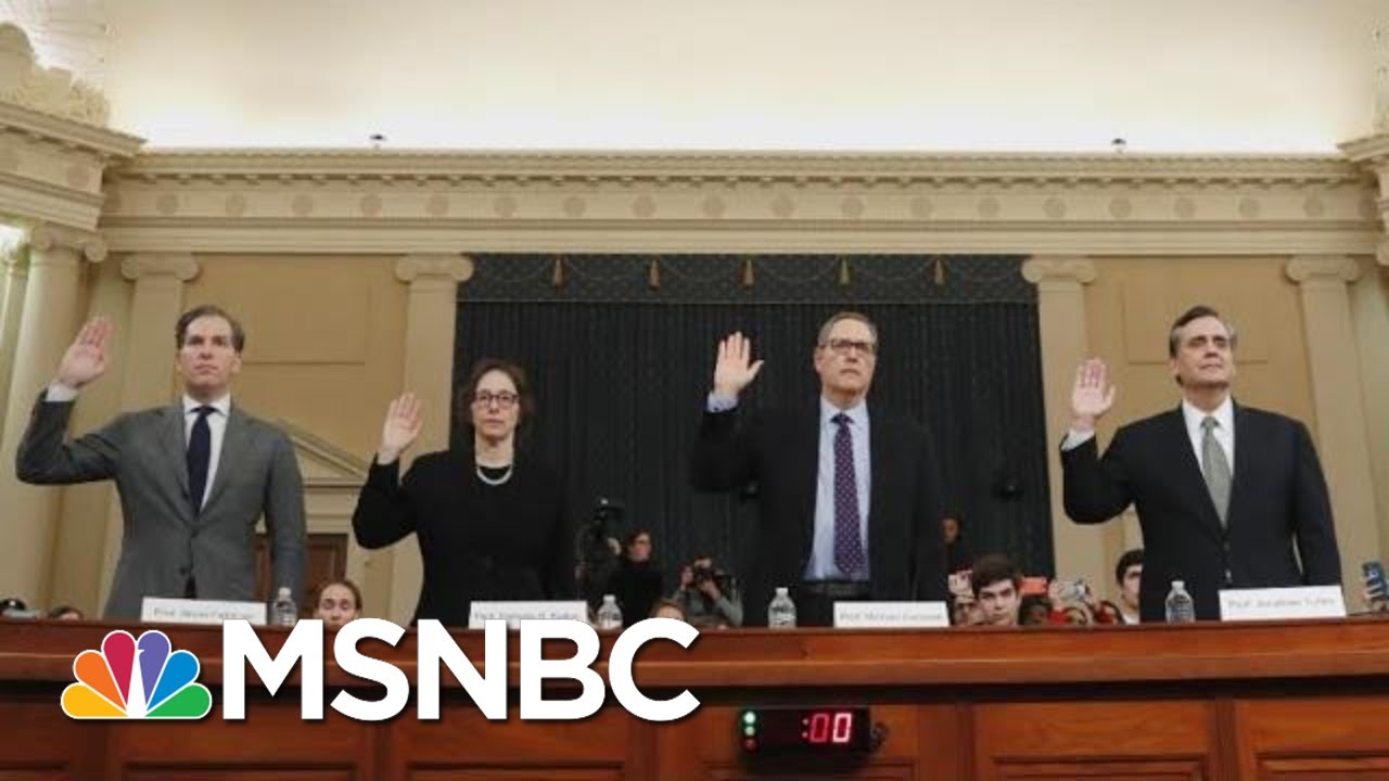 Did The Latest Trump Impeachment Hearing Change Anything On Capitol Hill? | The 11th Hour | MSNBC 6