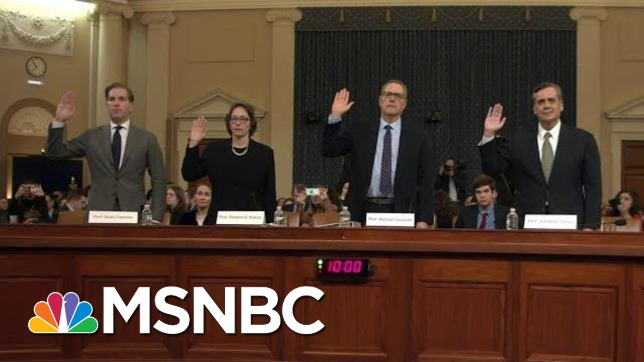 Legal Experts Emphasize Stakes Of Impeachment For Nation's Future | Rachel Maddow | MSNBC 8
