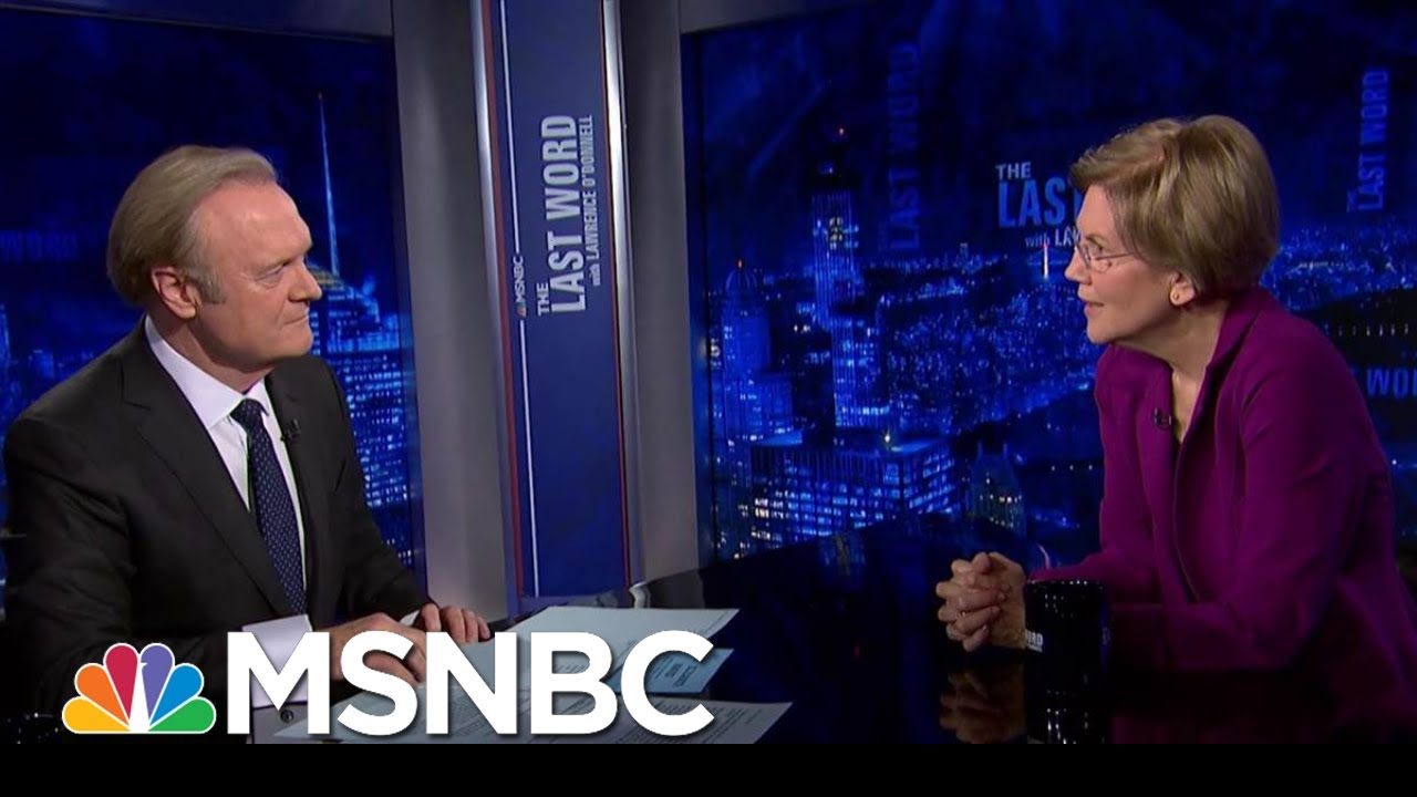 Sen. Warren On Impeachment: 'I Hope We Hold Him Accountable' | The Last Word | MSNBC 9