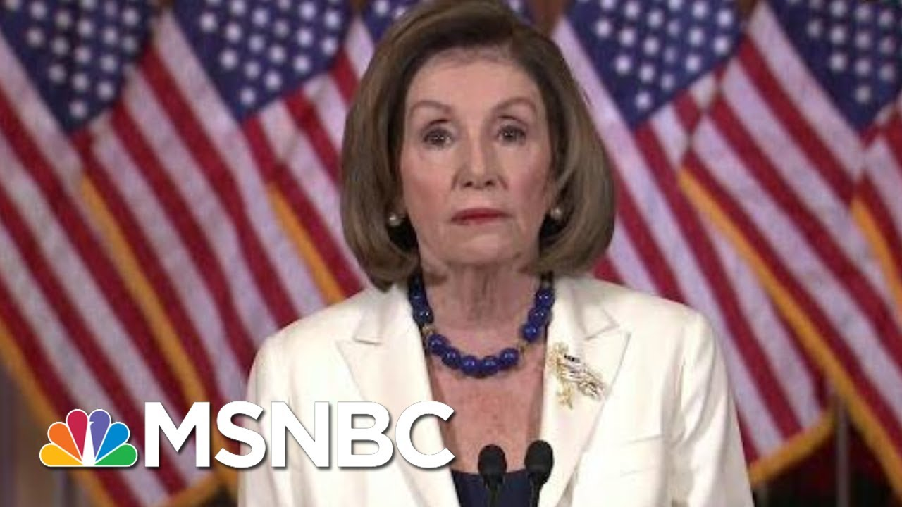 Pelosi Announces House Moving Forward With Articles Of Impeachment | Velshi & Ruhle | MSNBC 3