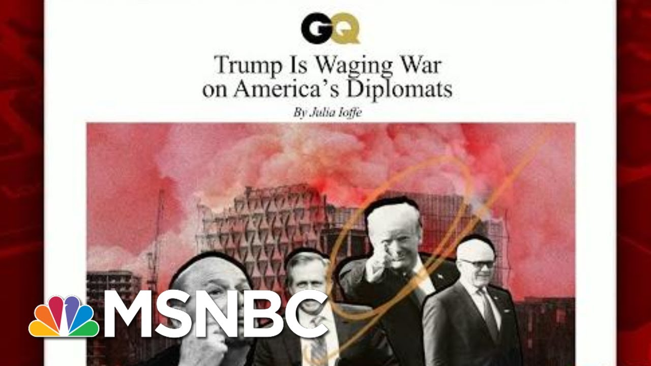 President Donald Trump Wages War On America's Diplomats | Morning Joe | MSNBC 5
