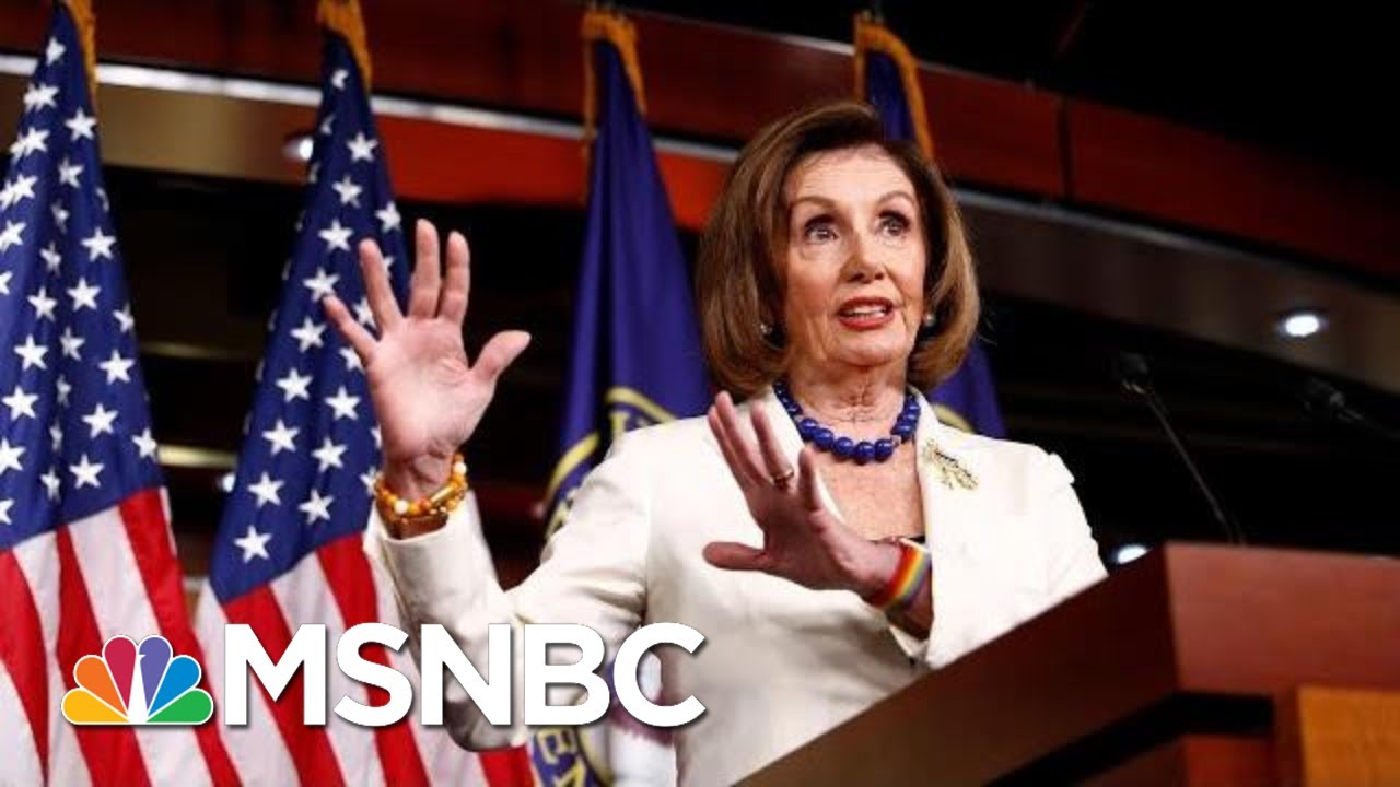 Pelosi: Trump Is 'Dividing The Country,' Not The Impeachment Inquiry | MSNBC 3