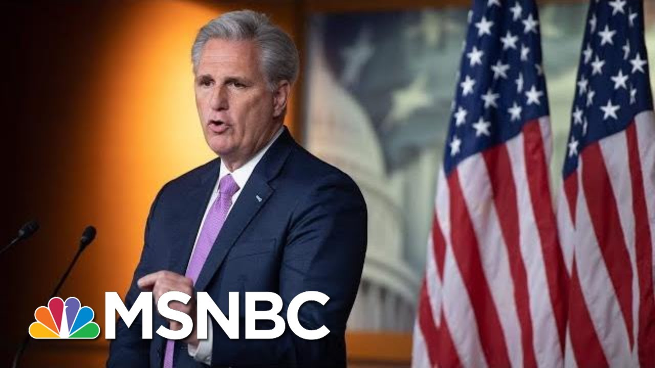 McCarthy: 'I Have A Hard Time Believing' Pelosi Doesn't Hate Trump | MSNBC 9