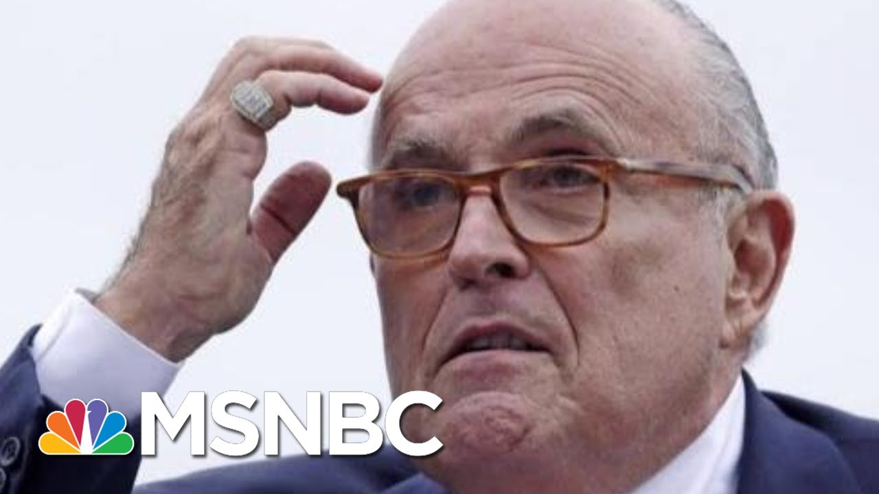 Mike Johnson: Rudy Giuliani Is 'Not Relevant' To Impeachment | MTP Daily | MSNBC 5