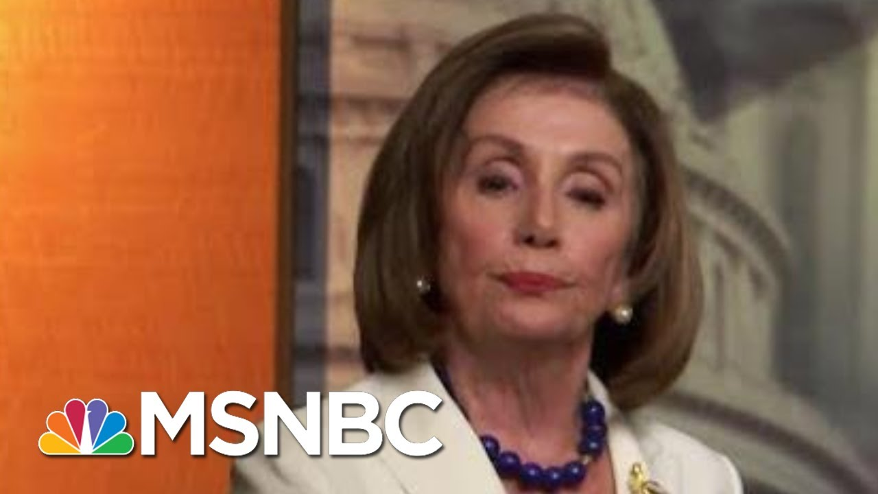 Joe Biden, Nancy Pelosi Rebuke Criticisms In Public Confrontations | MTP Daily | MSNBC 3