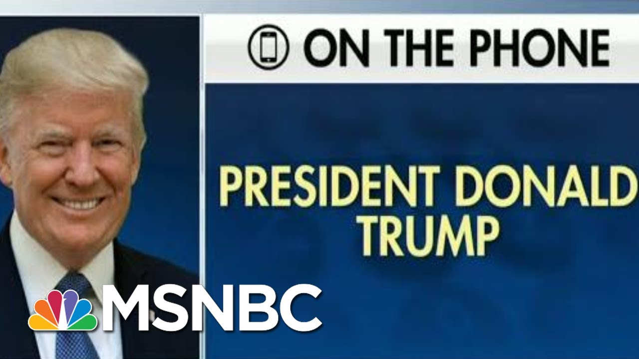 New: Trump Could Be Impeached Partly For Admissions On Fox News | The Beat With Ari Melber | MSNBC 8