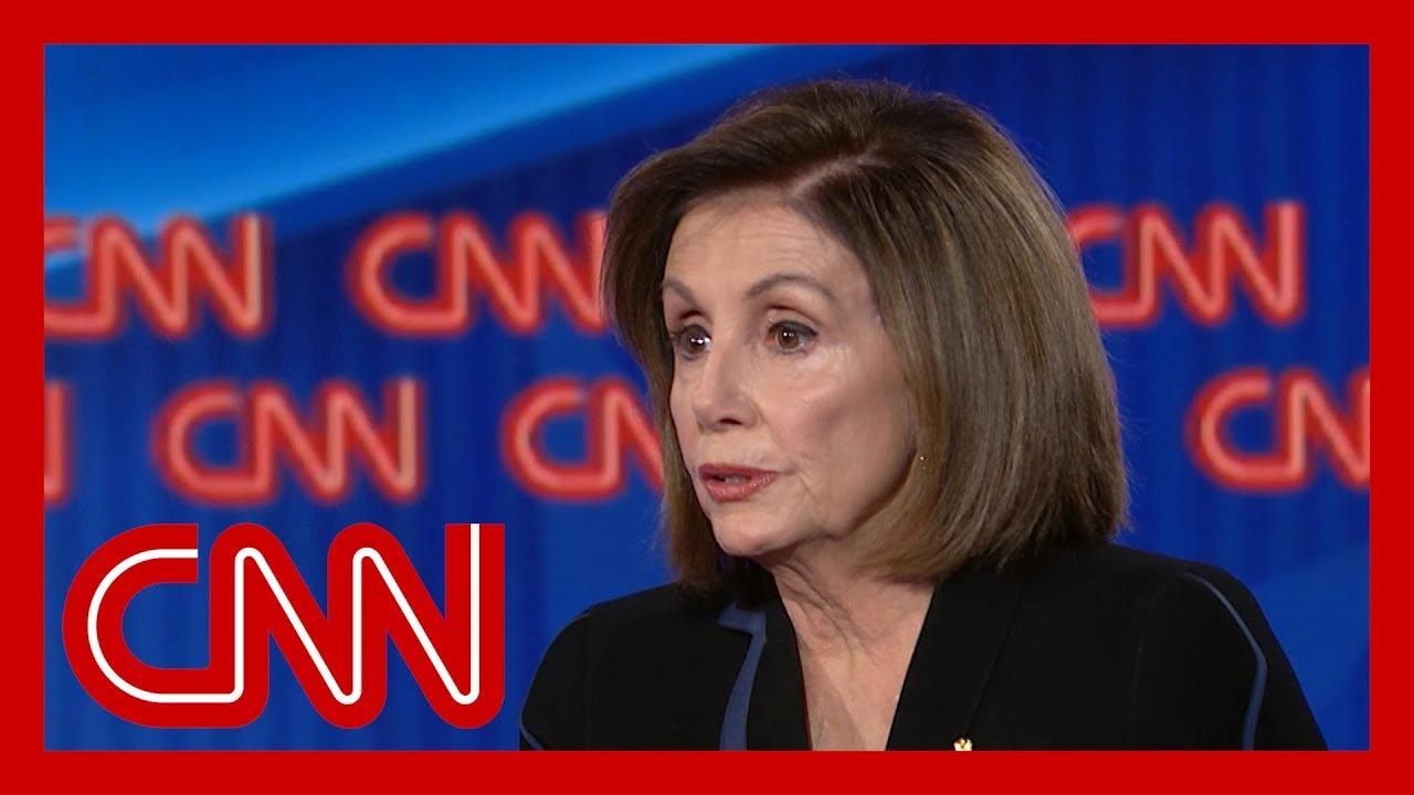 Nancy Pelosi responds to Trump calling her 'nervous' 7