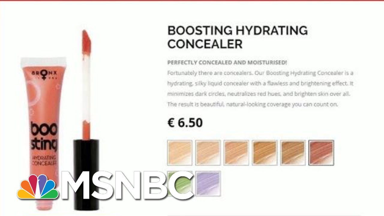 Donald Trump Likes 2 And A Half Of Things - Including His Orange MakeUp | All In | MSNBC 4