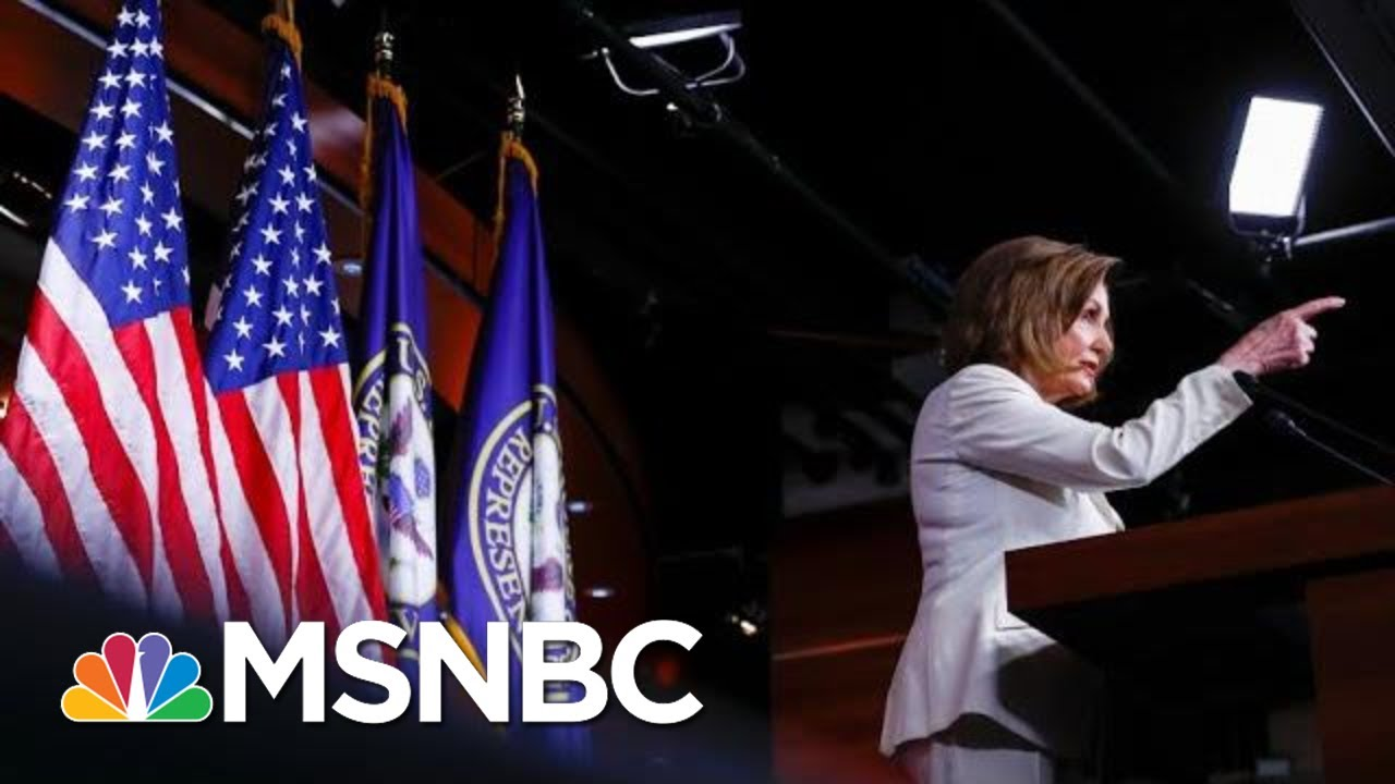 How Pelosi Went From No Way To Full Speed Ahead On Trump Impeachment | The 11th Hour | MSNBC 3