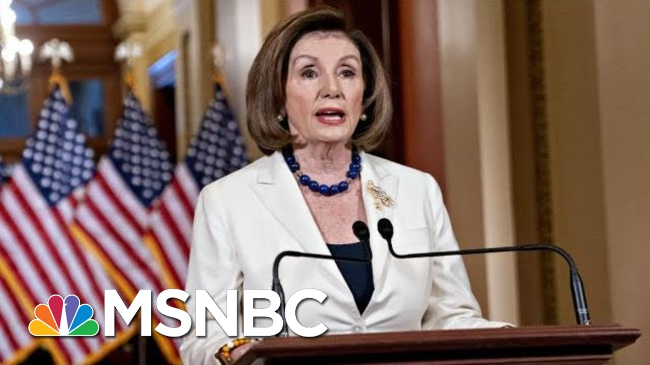 Day 1,050: Okaying Impeachment Articles, Pelosi Says Democracy Is At Stake | The 11th Hour | MSNBC 7