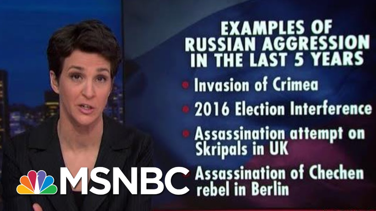 Russian Transgressions Met With increasingly Weak US Response | Rachel Maddow | MSNBC 6